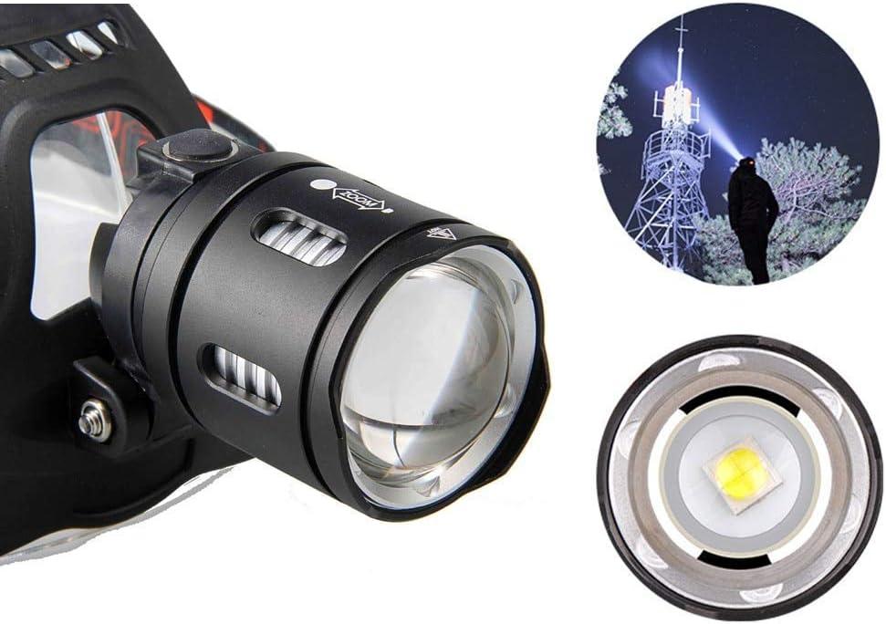 HSZH Puissant 90000lm Xhp70 Xhp50 LED Phare Phare Zoom Lampe Frontale Lampe de Poche Lampe de Poche Torche 18650 Batterie Lanterne Rechargeable USB