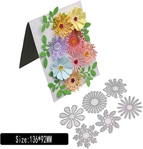 Paper Flower Cutting Dies Leaf Petals Card Scrapbooking Embossing Stencil Mold