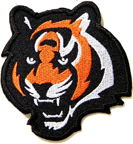 Bengal Tiger Big Cat Wild Animal Jacket T-shirt Patch Sew Iron on Embroidered Sign Badge Costume ()