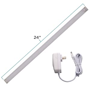 "Black and Decker Office Products LED Utility Light for Workshops, 1 Kit, 24"" Bar, Cool White (LEDUC24-1CK)"