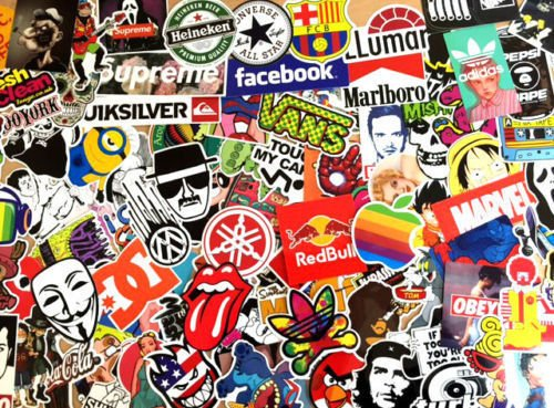 100 sticker bomb pack car styling vinyl sticker 100 pieces amazon co uk car motorbike