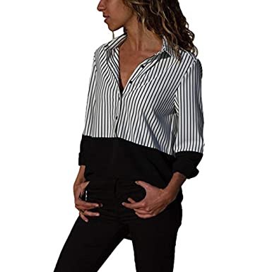 7af993ea1f48b Amazon.com  Pandaie Women s Long Sleeve Tops