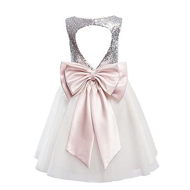 Sequin Flower Girl Dresses
