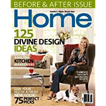 Home Magazine - Candice Olson's Decorating Secrets - Before & After Issue - Amazing Kitchen Makeovers (January/February, 2006)
