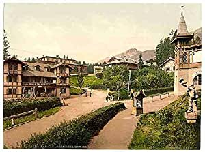 Photo Bad Alt Schmecks Tatra A4 10x8 Poster Print
