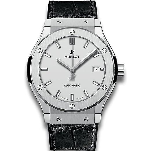 Hublot clásico fusión Automático Titanio Mens Reloj 511. NX. 2611. RX: Amazon.es: Relojes