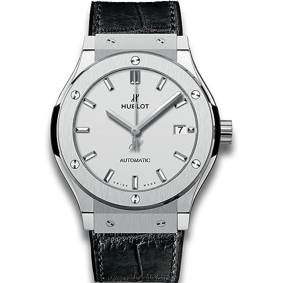 Hublot clásico fusión Automático Titanio Mens Reloj 511. NX. 2611. RX