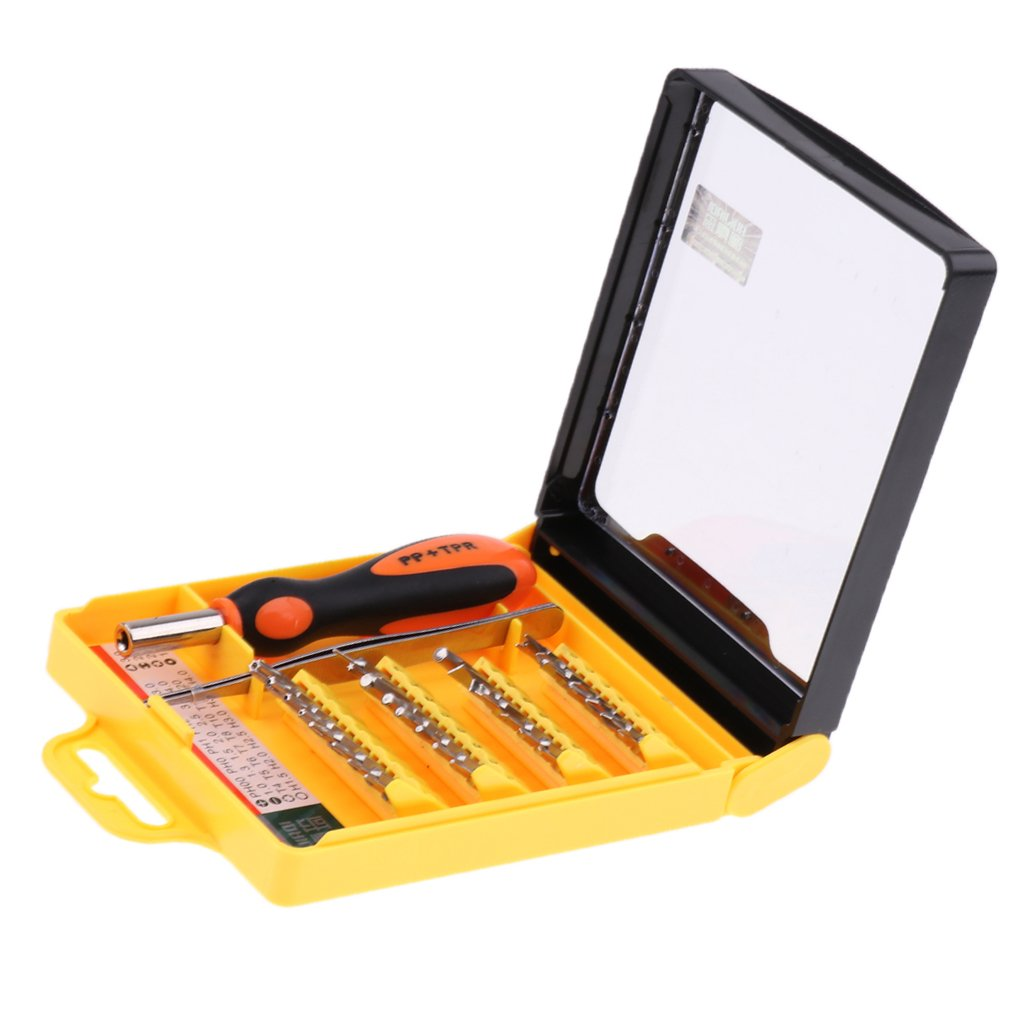 Baoblaze 30 In1 Opening Repair Tools Kits Screwdriver Accessories for Digital Camera, Tablets by Baoblaze