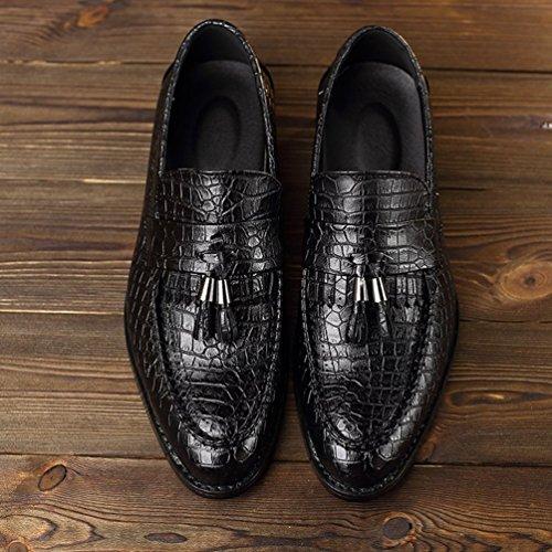Negro Feidaeu Feidaeu Hombre Zapatos Zapatos SwxI0Zqp1