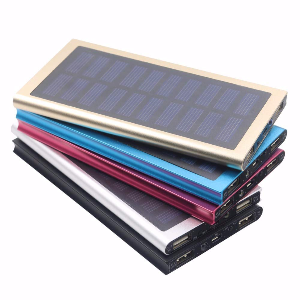 Solar Charger (Black) Second Wind