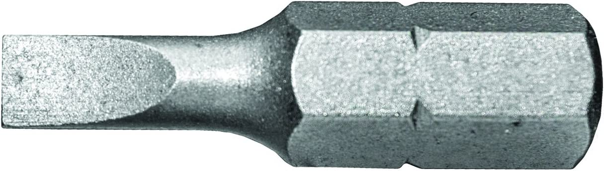 Century Drill /& Tool 68681 Premium S2 Steel #1 Phillips and #6 Slotted Double Ended Screwdriving Bit