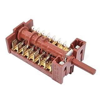 Spares2go 16posición selector interruptor para CORBERO CCH604NW horno cocina