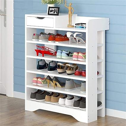 Multi Layer Simple Shoe Rack Home Assembly Door Shoe Cabinet Modern Foyer Locker Economic Dormitory Dust Shelf Home Furniture