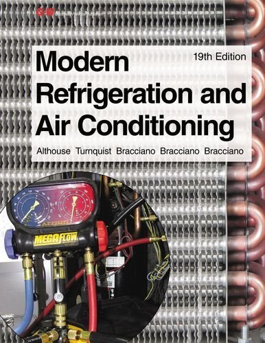 Modern Refrigeration and Air Conditioning by Bracciano, Alfred F., Bracciano, Daniel C., Bracciano, Glori (2013) Paperback