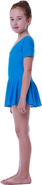 Seawhisper Maillot Ballet para Niñas Volantes 4 Estilos disponibles para elegir: Amazon.es: Deportes y aire libre