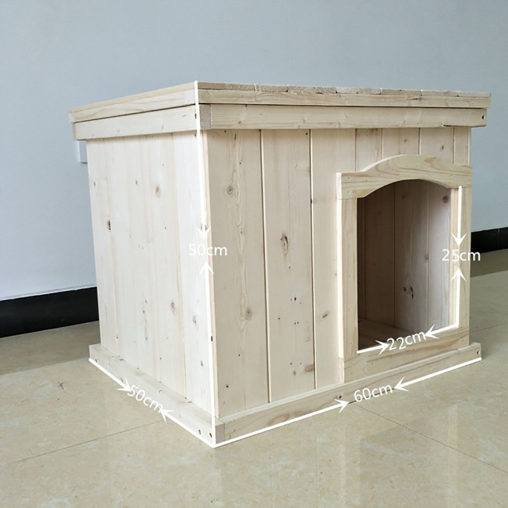 Cats and Dogs Housing Wooden Indoor  pet  nest