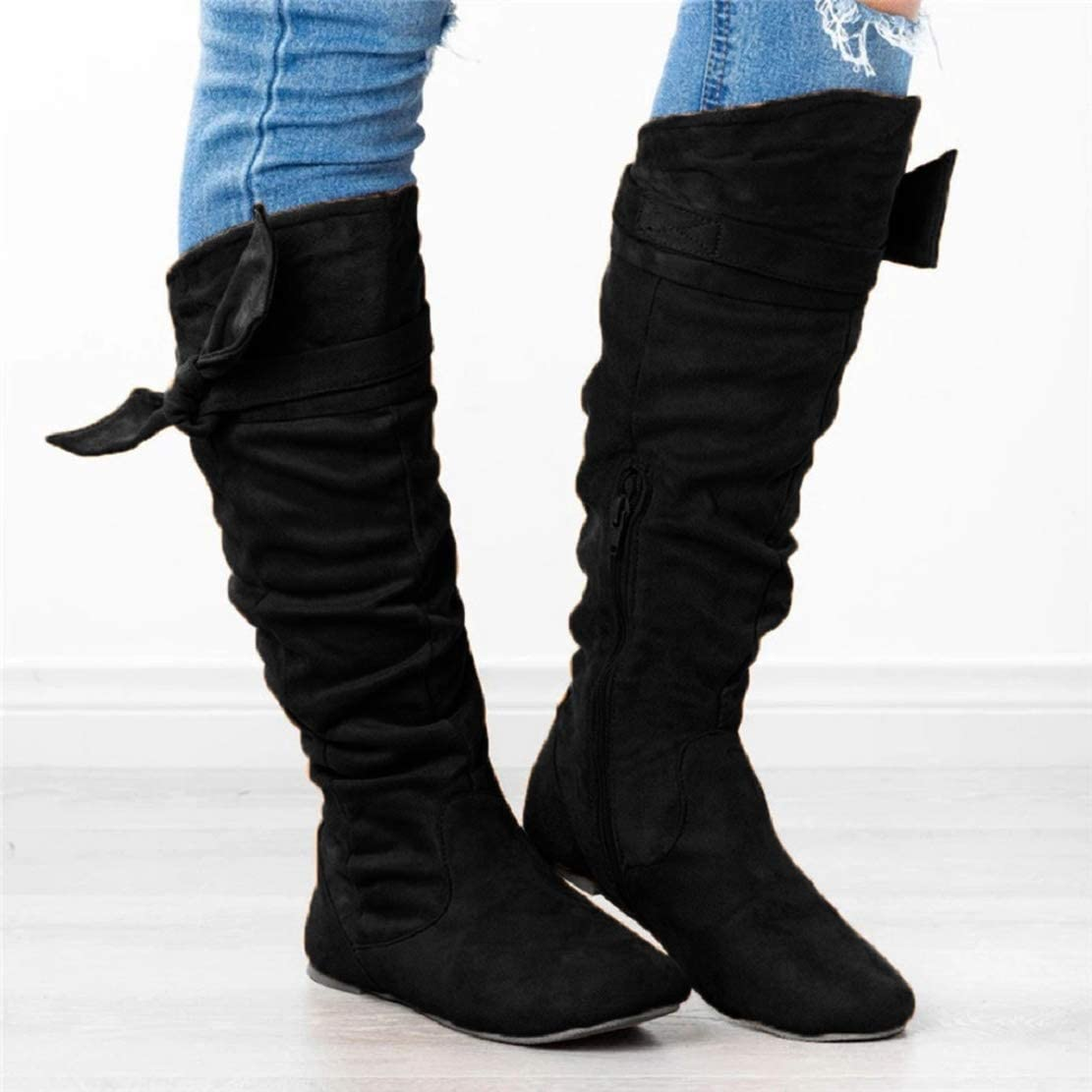 LowProfile Knee High Boots for Women No
