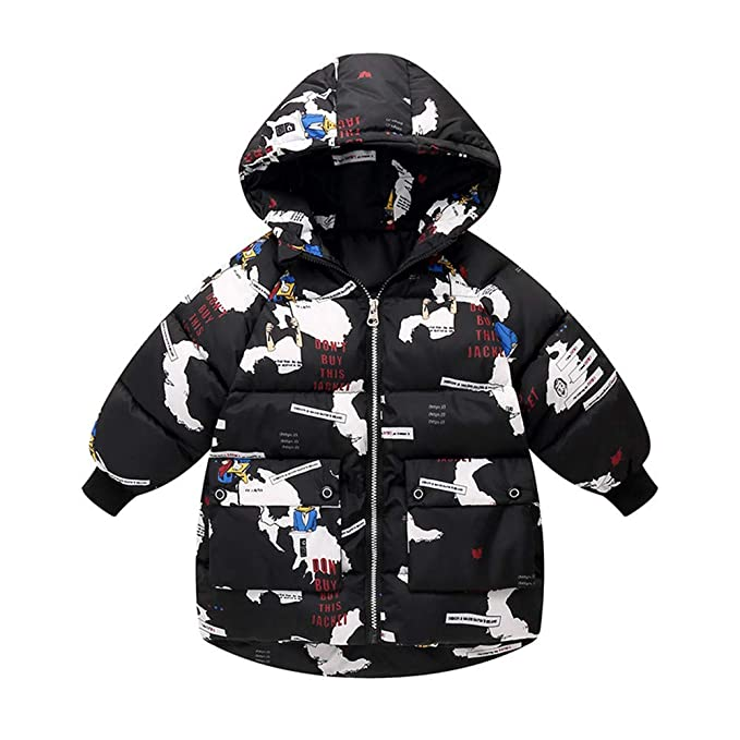 MERICAL Cleanrance Coat for Women Toddler Baby Infant Coat for Baby Girl Boy Floral Butterfly Winter Warm Jacket Hooded Windproof Outerwear