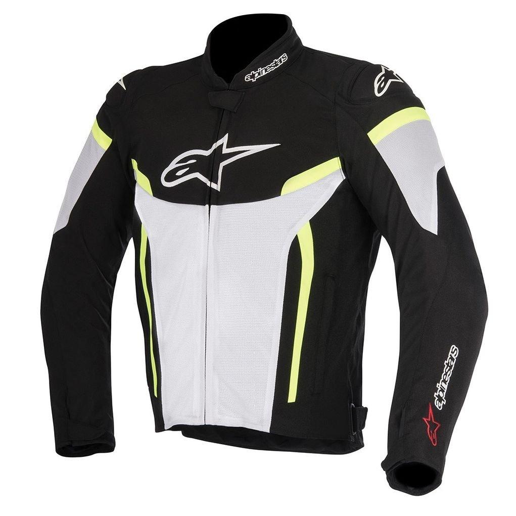 Alpinestars T-GP Plus R v2 Air Jacket (XXX-LARGE) (BLACK/WHITE/YELLOW)