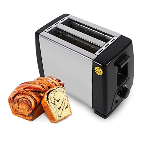 58d363165 180mm 2-Slice Toaster Stainless Steel Bread Toaster 220V Electrical Bread  Machine