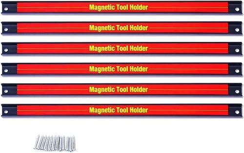 Goplus Magnetic Tool Holder Bar w/Wall Mounting Screws