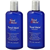 """Tend Skin Care Solution for Ingrown Hair & Razor Bumps, 4 oz, """"Pack of 2"""""""