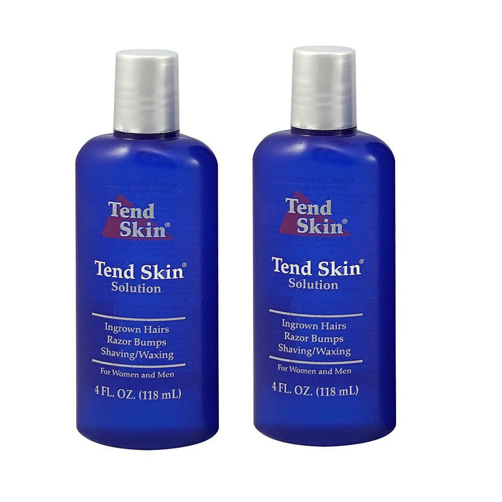"""Tend Skin Care Solution for Ingrown Hair & Razor Bumps, 4 oz,""""Pack of 2"""""""
