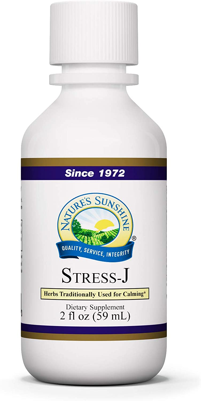 Nature's Sunshine Stress-J 2 Fl Oz