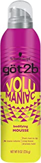 product image for Got2b Volumaniac Hair Mousse, 8 Ounce