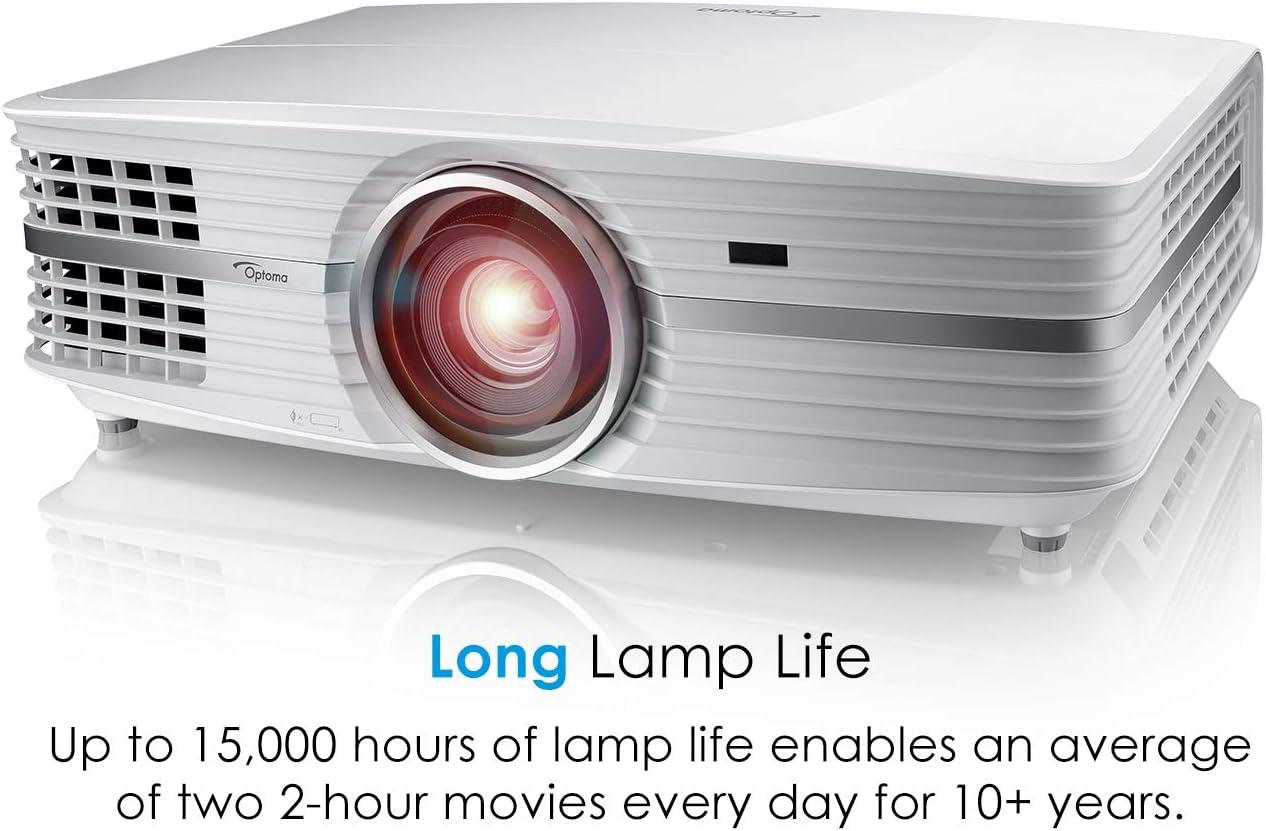 Optoma UHD60 Video - Proyector (3000 lúmenes ANSI, DLP, 2160p ...