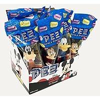 Dispensadores de dulces Mickey Mouse & Friends PEZ: paquete de 12