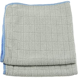 "Unger Microfiber Glass and Mirror Cloths, 12"" x 12"", 2 Pack"