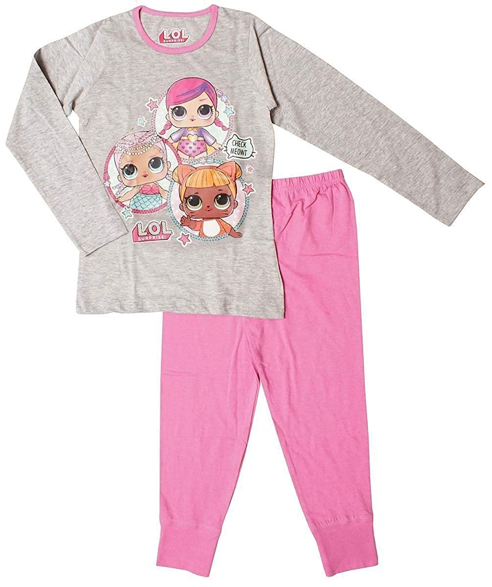 TDP Girls Childrens LOL Surprise Pajamas Set Dolls Gift Sleepwear Christmas