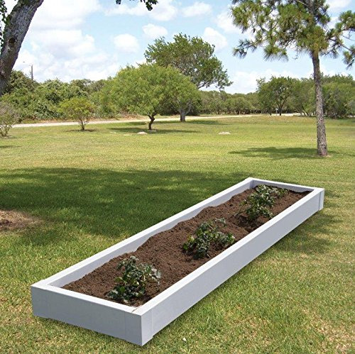 Superior Lawn and Garden 815602608 Raised Bed Kit, White by Superior Lawn and Garden (Image #1)