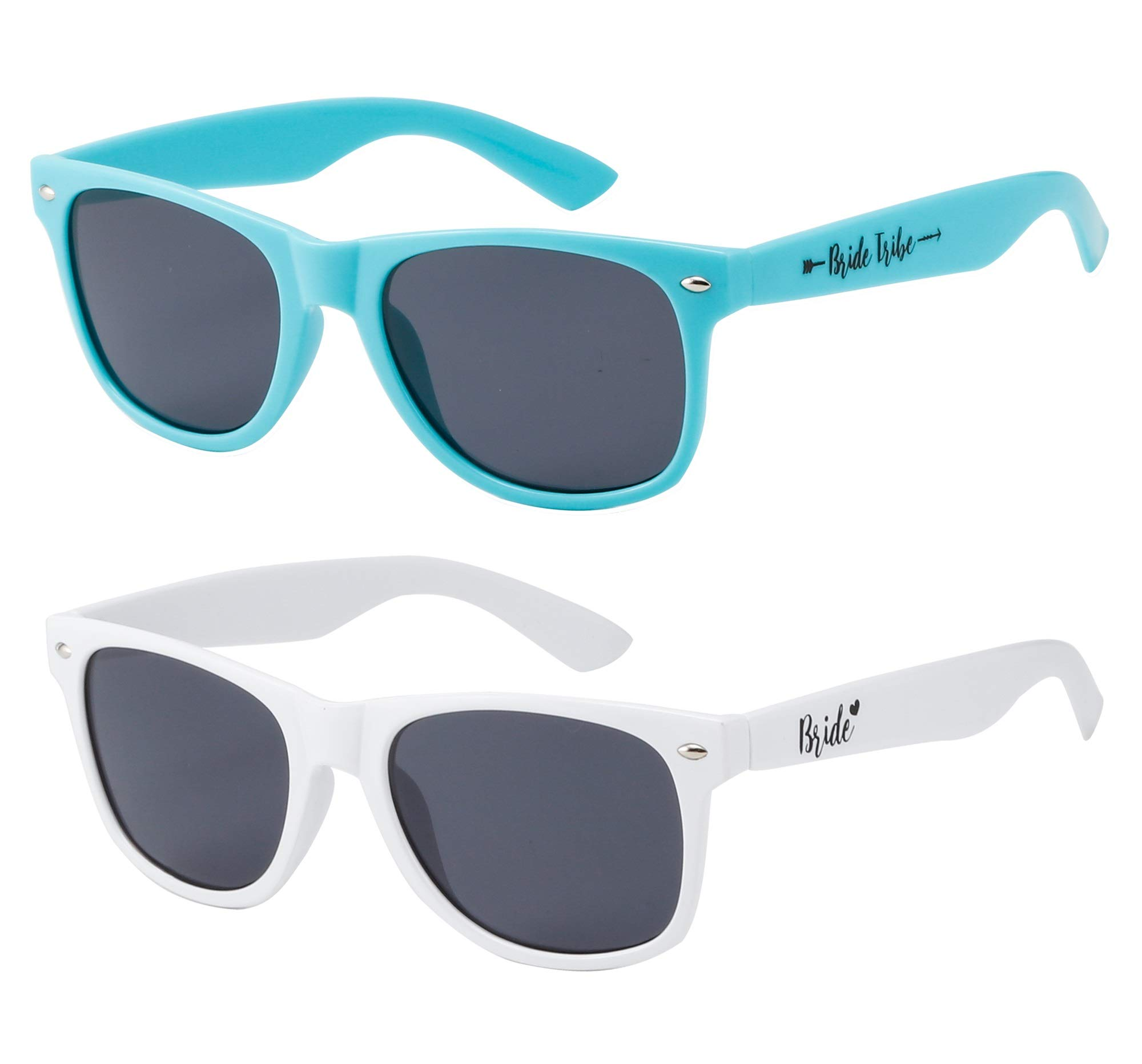 Bridal Shower Favors Bride Tribe and Bride Sunglasses, Perfect for Bachelorette Parties, Weddings, and Showers