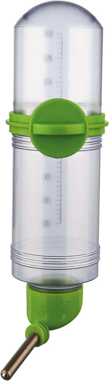 Botella bebedero con tornillo fijador, 500 ml, 1 unidad, color surtido
