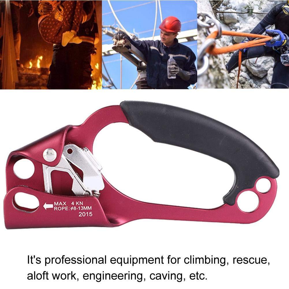 Alomejor Tecnolog/ía de Escalada Escalada de Escalada Protector de Escalada Deportes al Aire Libre para expandir la Plataforma Vertical para monta/ñismo