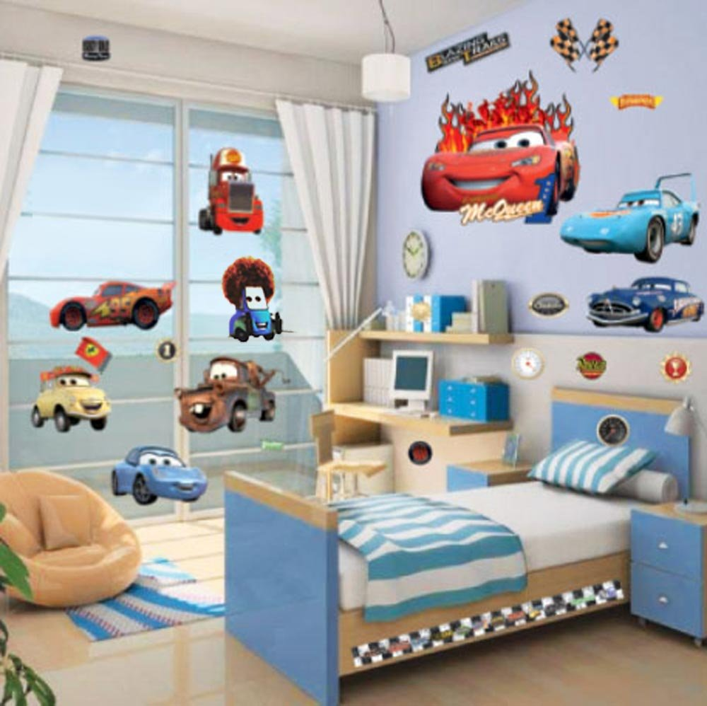 Charming LARGE DISNEY PIXAR CARS / LIGHTNING MCQUEEN / MATER CHILDRENu0027S ROOM DECOR WALL  STICKER 70 X 50cm: Amazon.co.uk: Kitchen U0026 Home