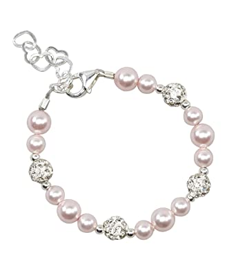 Amazon.com: Crystal Dream BSHWP - Pulsera para bebé con ...