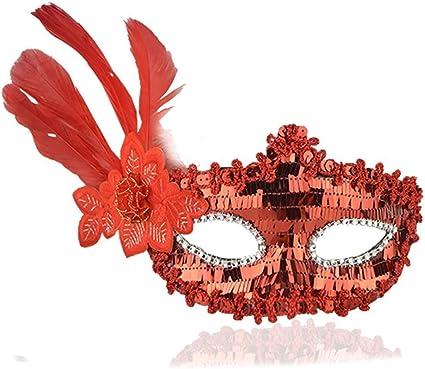 Le donne elegante da sera Halloween Ballo In Maschera Maschera