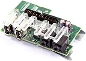 Dell Genuine Front Audio USB I/O Control Panel for Optiplex 330, 360, 755, 760 Desktop Systems Part Numbers: RY698, HU390, R6187, XW059