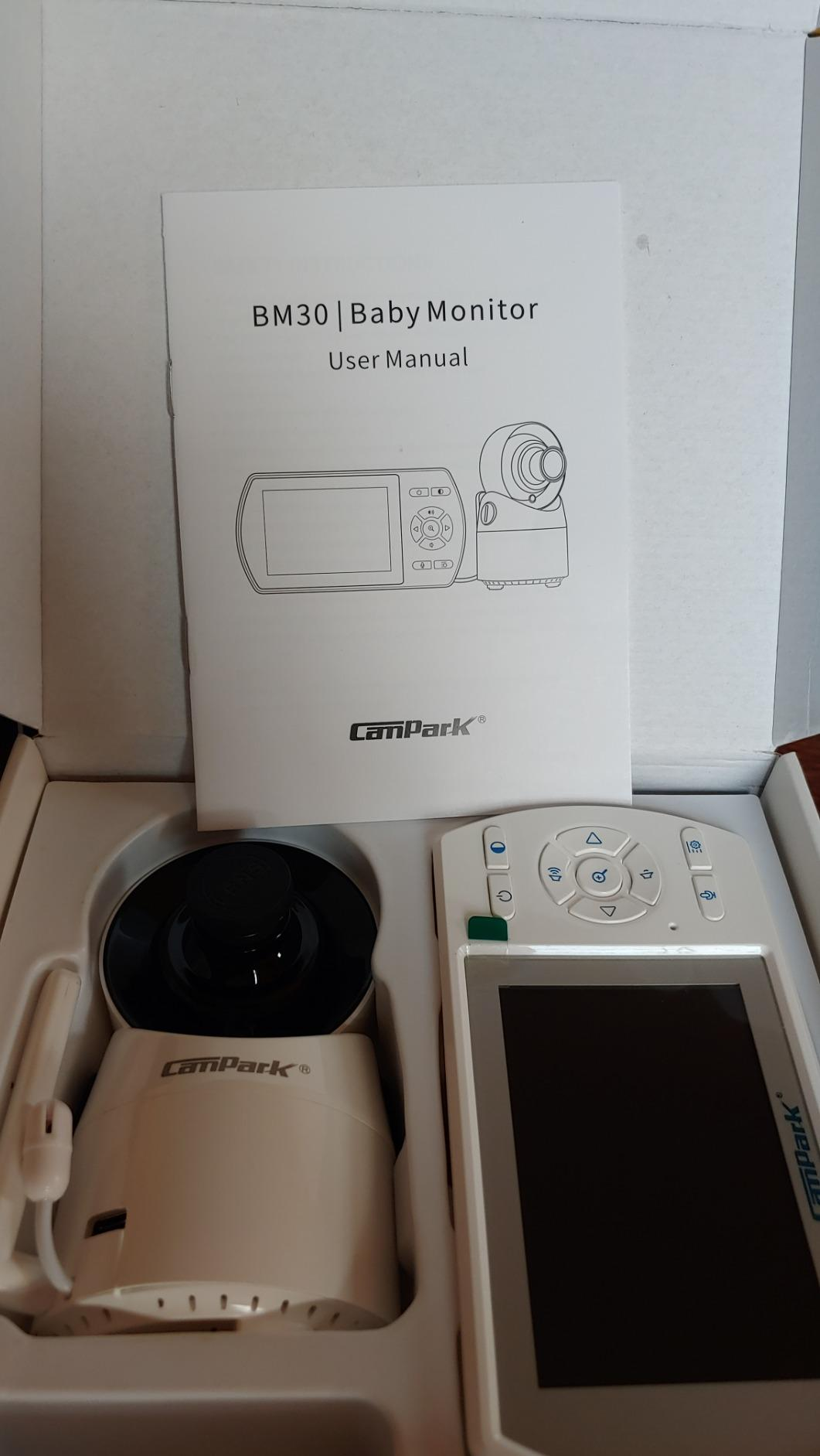 Campark Baby Camera Unit of BM30 Baby Monitor Without Monitor Unit