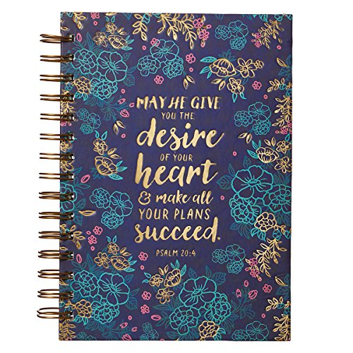 (Desire of Your Heart Large Hardcover Wirebound - Psalm)