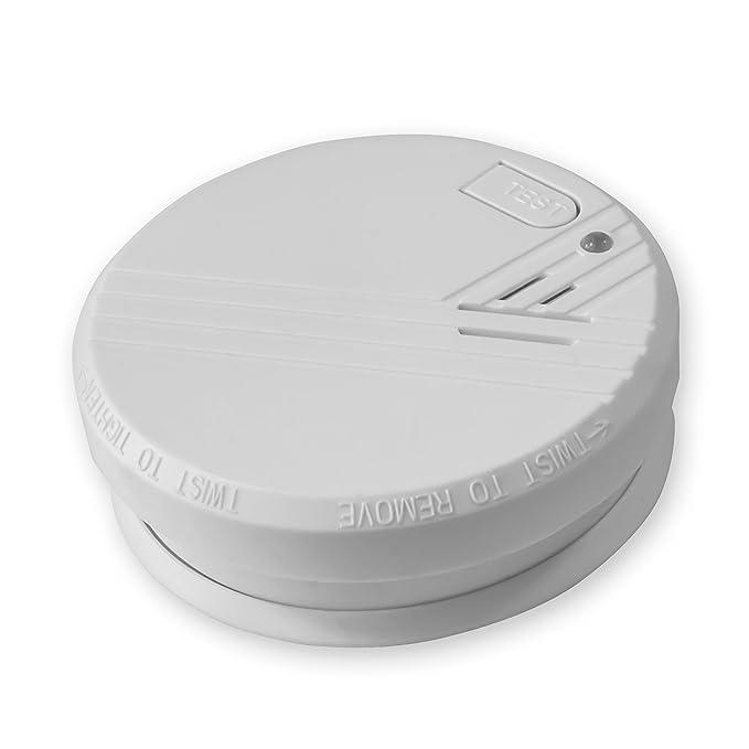 3X Nemaxx Detector de Humo FL2 - según la Norma EN 14604 con tecnología fotoeléctrica Sensible e inalámbrica!: Amazon.es: Bricolaje y herramientas