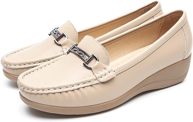 Femmes Spot on À Enfiler Mocassin Style Chaussures