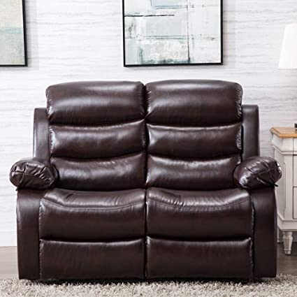 Pleasant Amazon Com Recliner Sofa Leather Sofa Recliner Couch Home Pabps2019 Chair Design Images Pabps2019Com