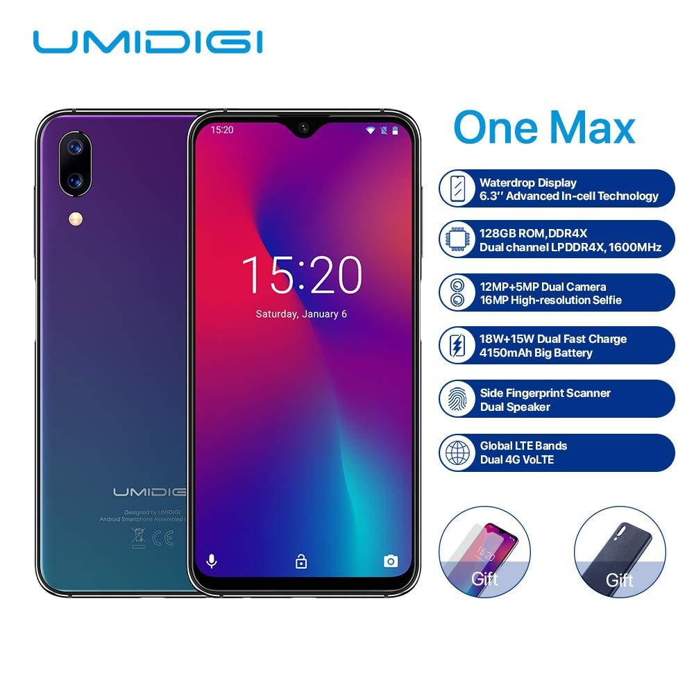UMIDIGI One Max Smartphone, 6 3