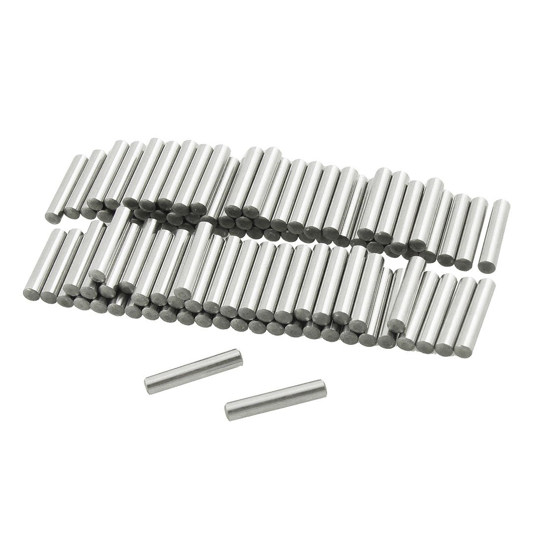 Sourcingmap a12042300ux0528-100 piezas de acero inoxidable de 3 mm x 15.8mm pasadores elementos fastenal
