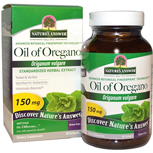 Nature's Answer, Oil of Oregano, Origanum Vulgare, 150 mg, 90 Softgels - 3PC ()