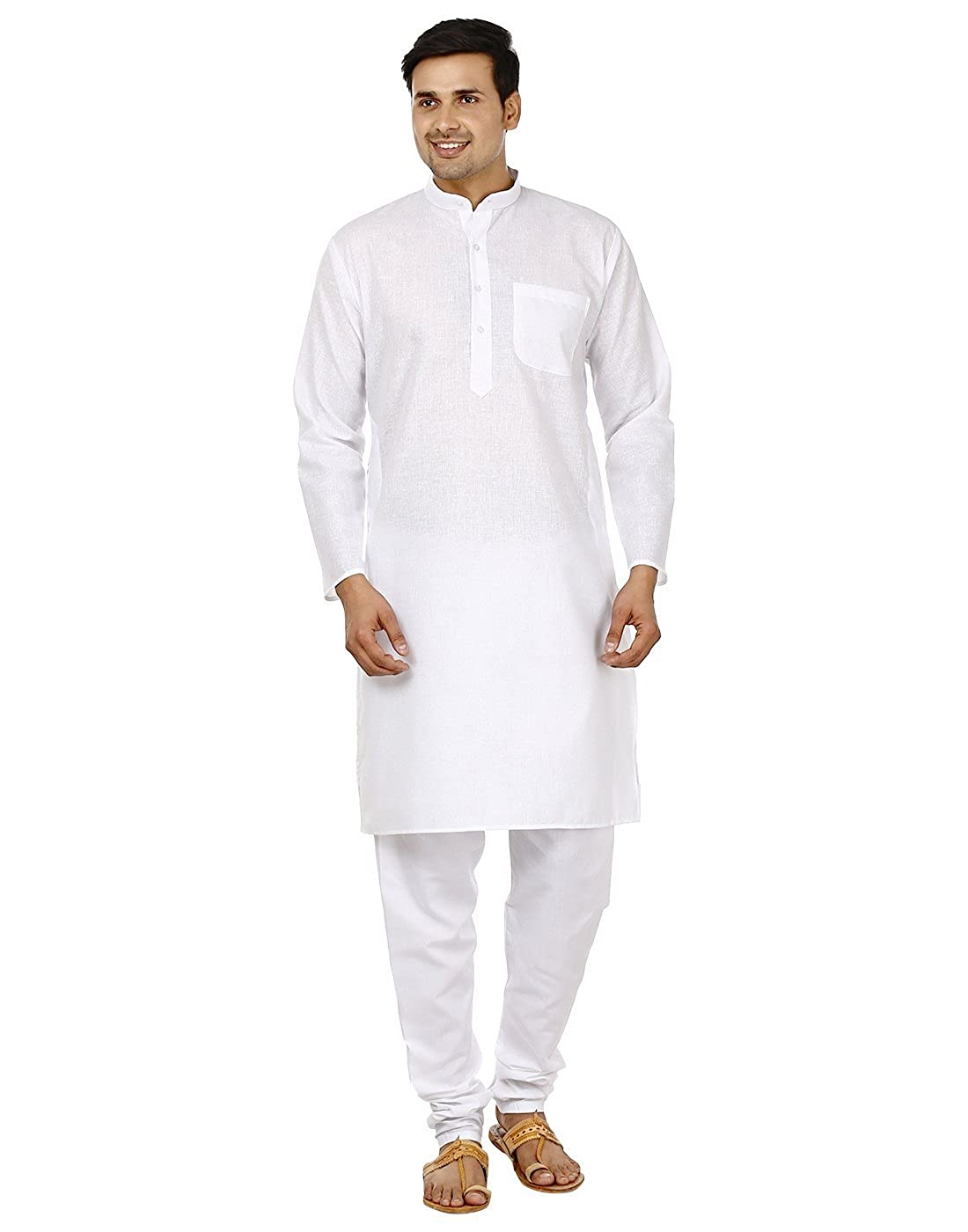 Bollywood Designer Herren Kurta Pyjama Set Ethnic Indian-Party für Männer tragen